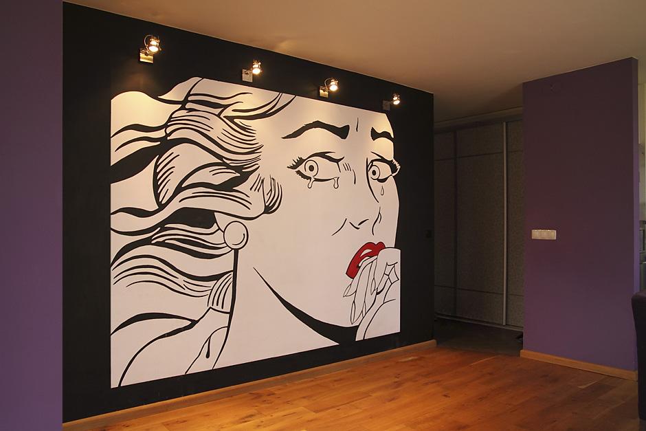 Kopia grafiki Lichtensteina
