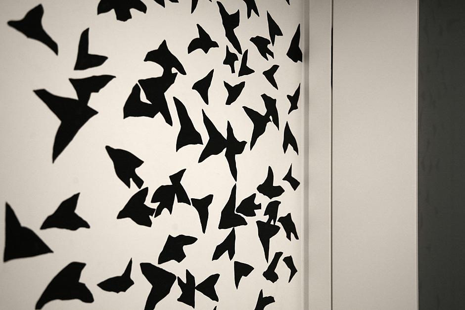 Kompozycja graficzna czarno-biała
