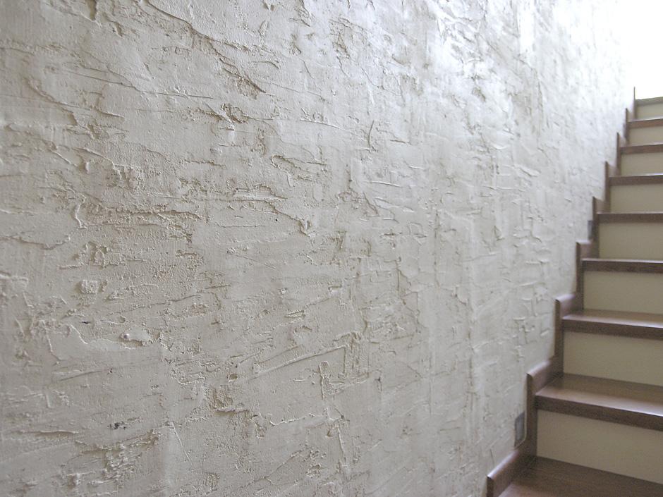 Struktura na klatce schodowej