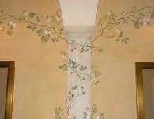 Malarstwo w herbaciarni