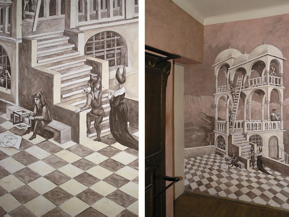 Kopia grafiki M.C. Eschera