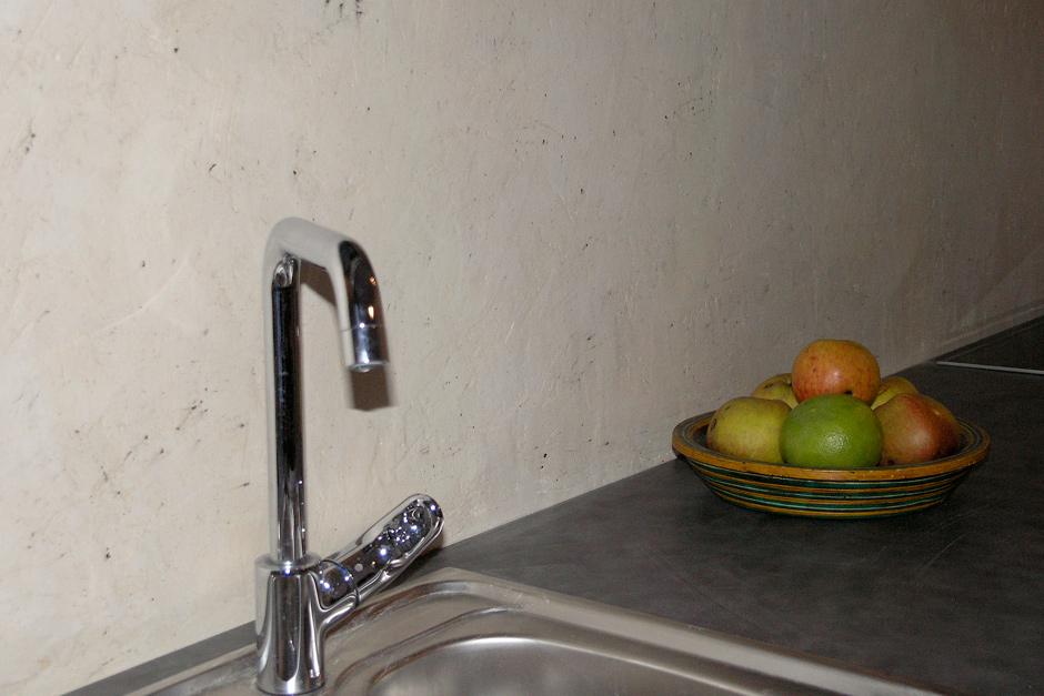 Tynk dekoracyjny w kuchni