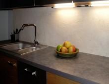 Dekoracyjna ściana w kuchni