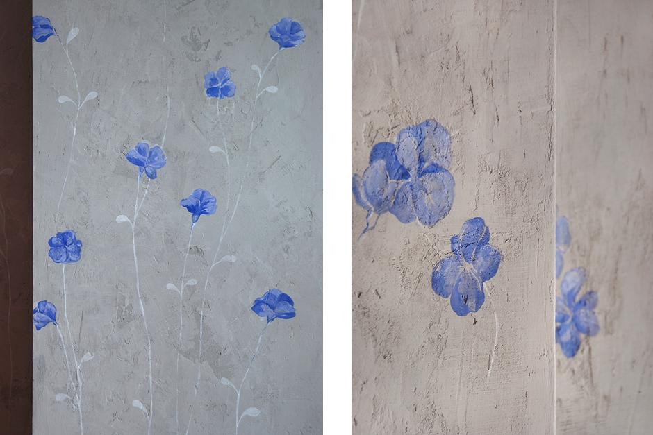 Dwuwarstwowy beton na ścianie